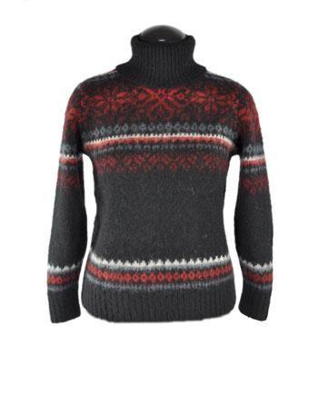 пуловер из кид мохера спицами